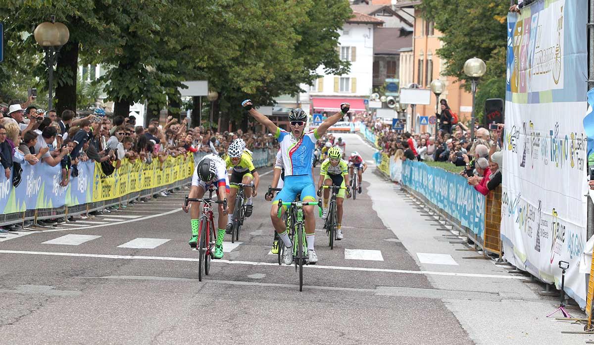 La vittoria di Filippo Borello a Borgo Valsugana nella Coppa di Sera Esordienti 1° anno