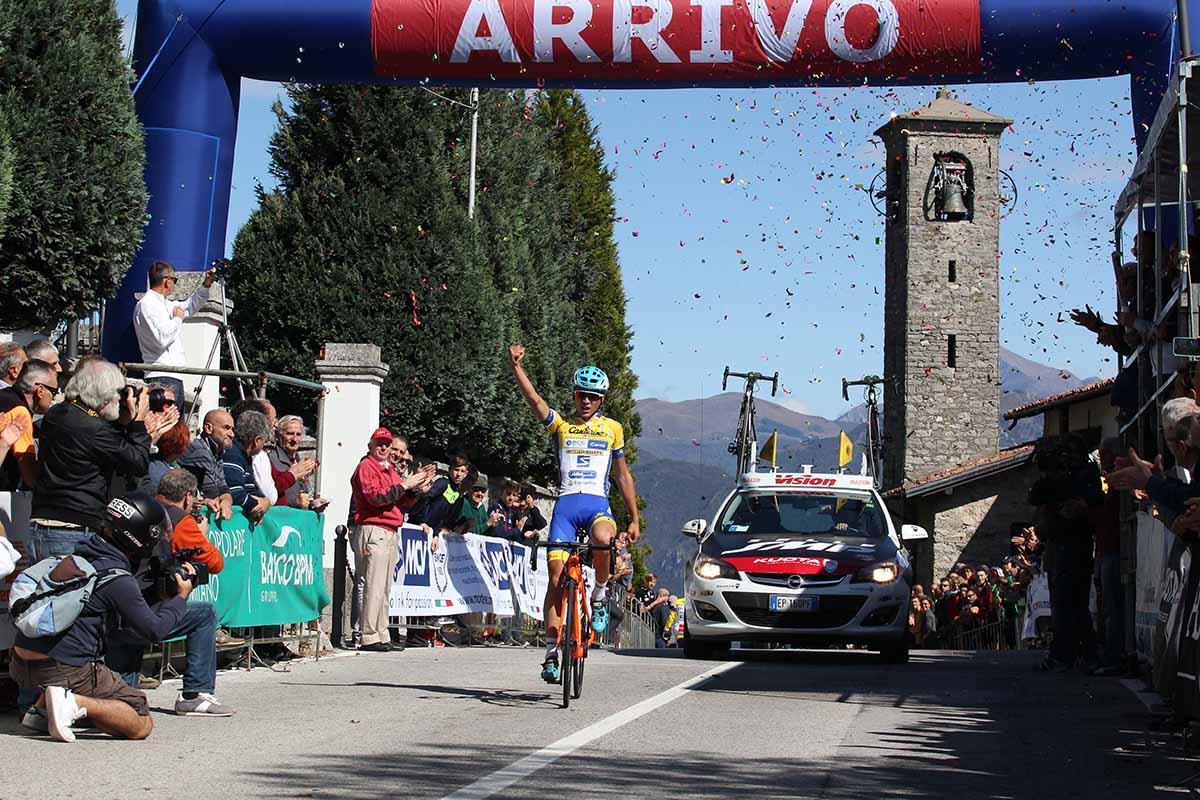 Andrea Bagioli vince la Olgiate Molgora - Ghisallo 2017