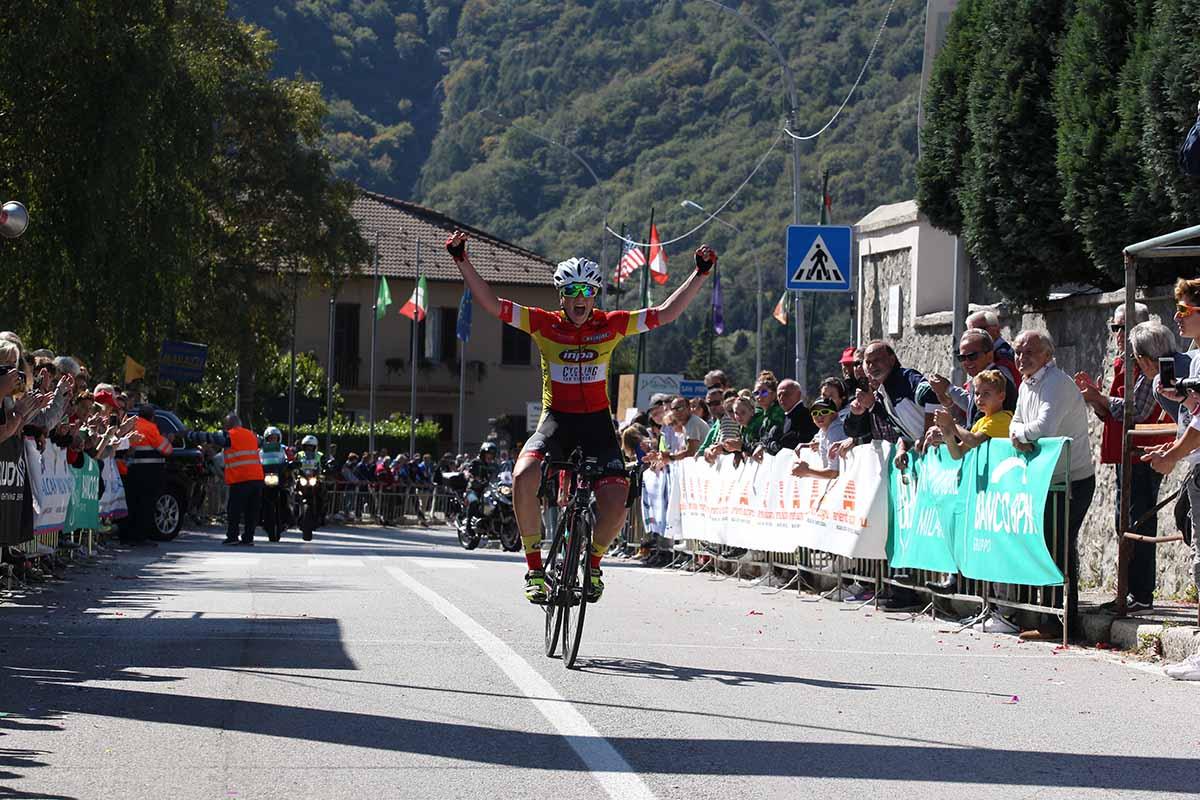 Federica Piergiovanni vince la Cesano Maderno - Ghisallo