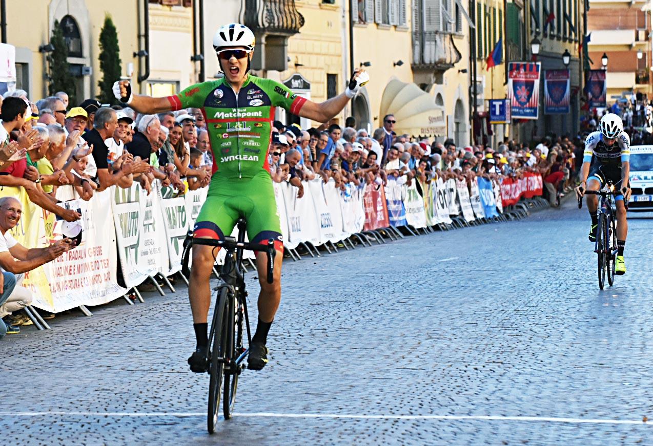 La vittoria di Giacomo Garavaglia al 40° Giro Nazionale del Valdarno