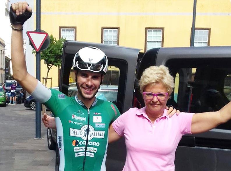 Umberto Marengo vincitore dell'ultima tappa della Vuelta a Tenerife