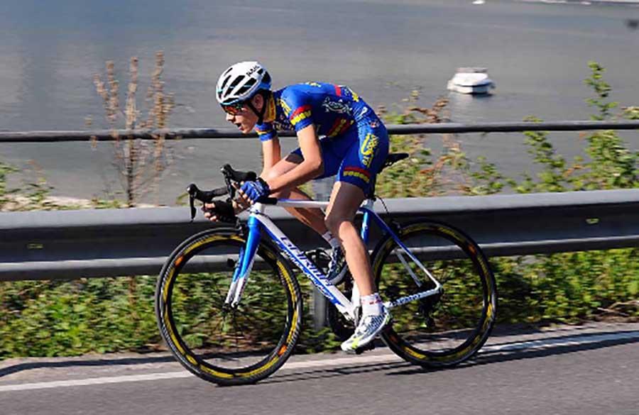 Sebastiano Minoia in azione