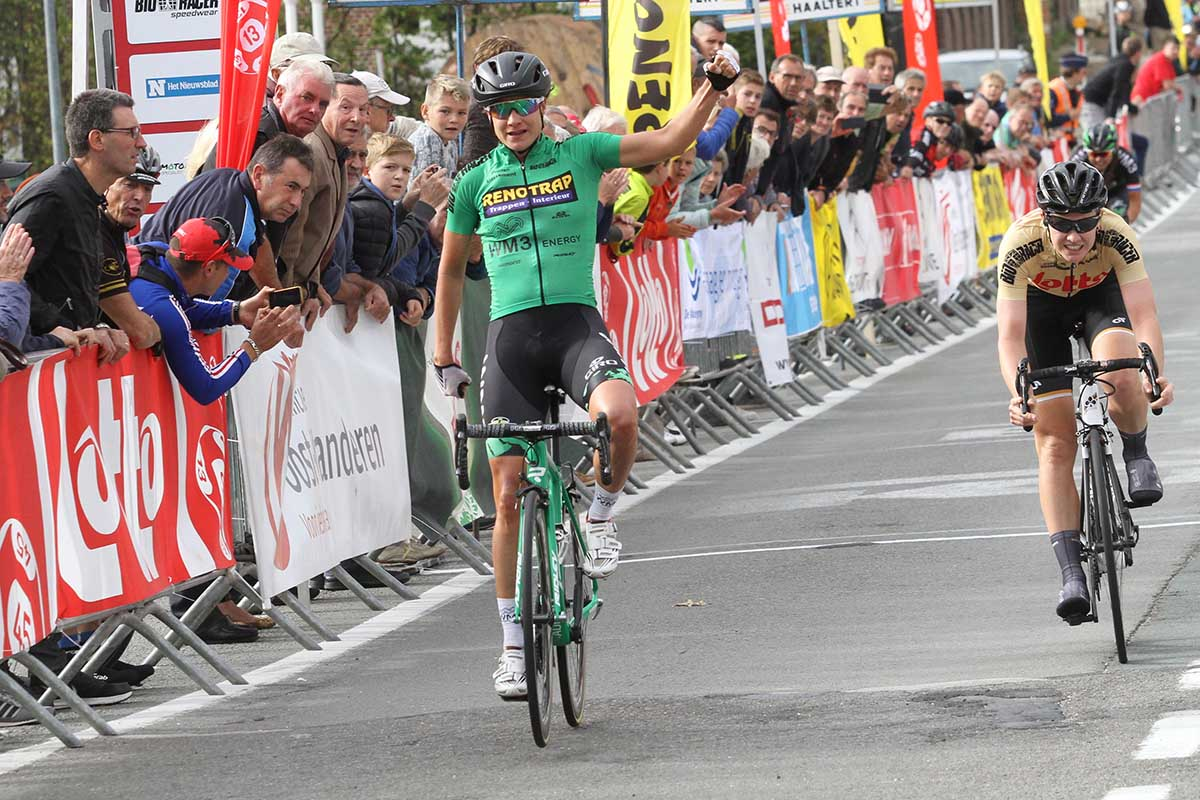 Marianne Vos vince la prima tappa del Lotto Belgium Tour 2017