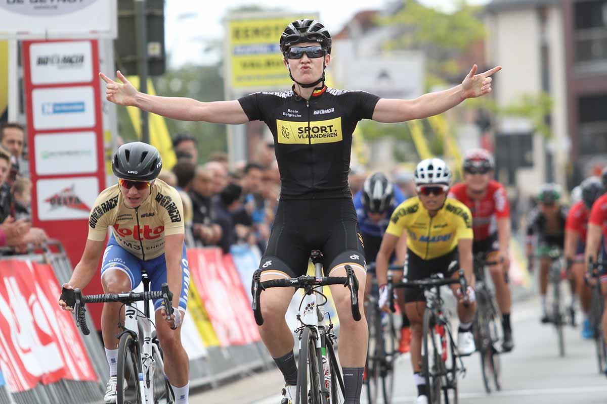 Jolien D'Hoore vince la seconda tappa del Lotto Belgium Tour