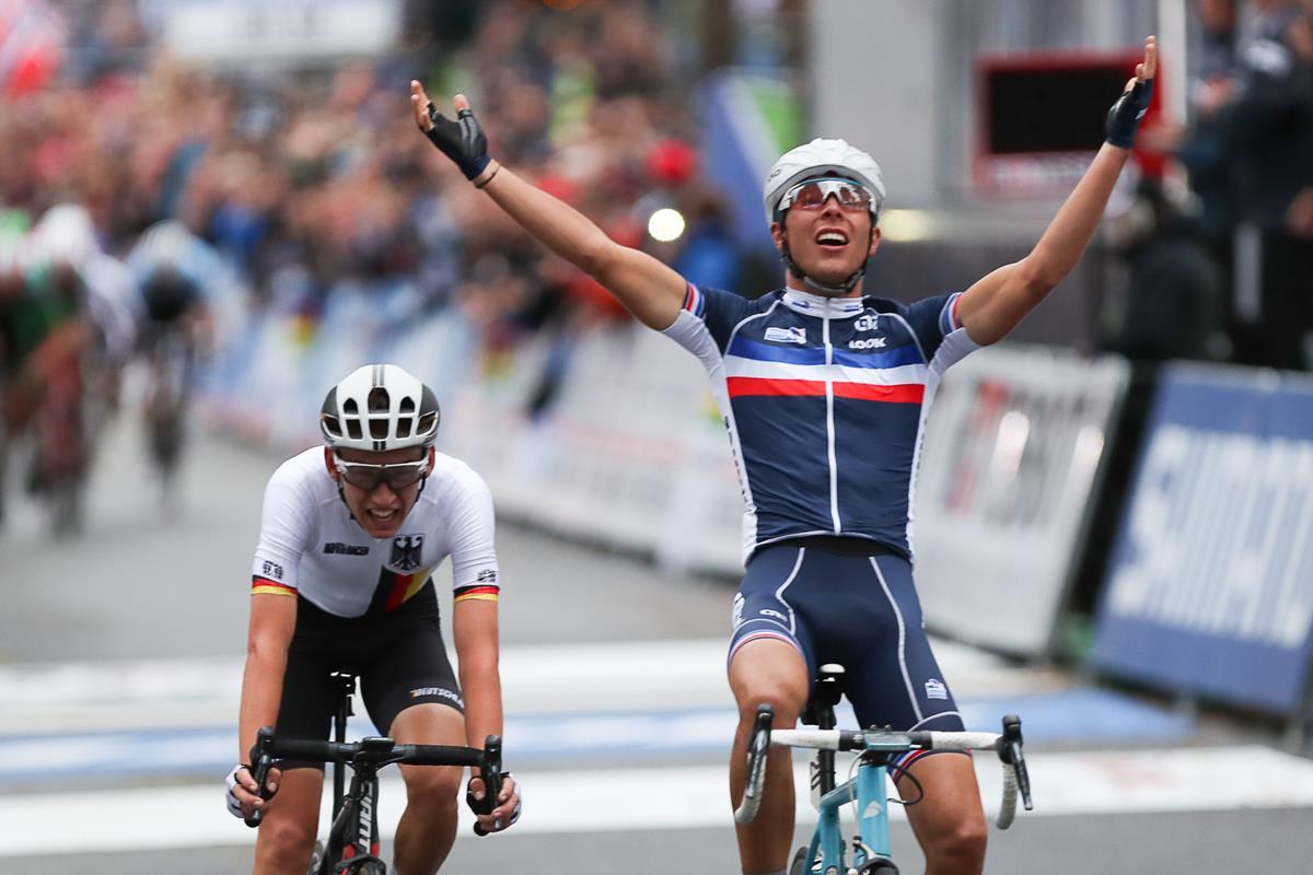 Benoit Cosnefroy vince il Mondiale Under 23 a Bergen