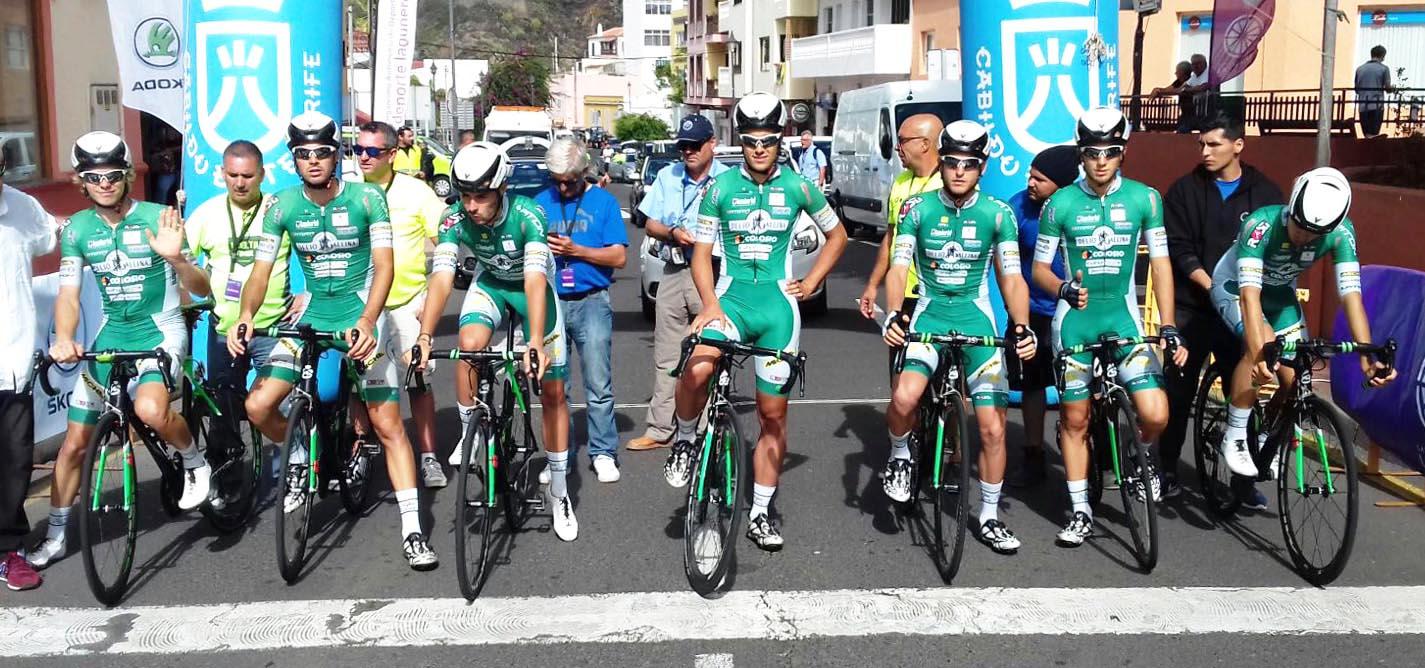 La Delio Gallina vince la cronosquadre della Vuelta a Tenerife 2017