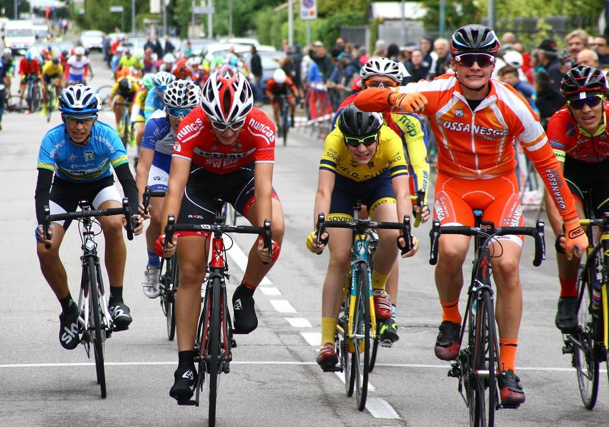 Alessandro Sala vince la gara Esordienti di San Giorgio sul Legnano