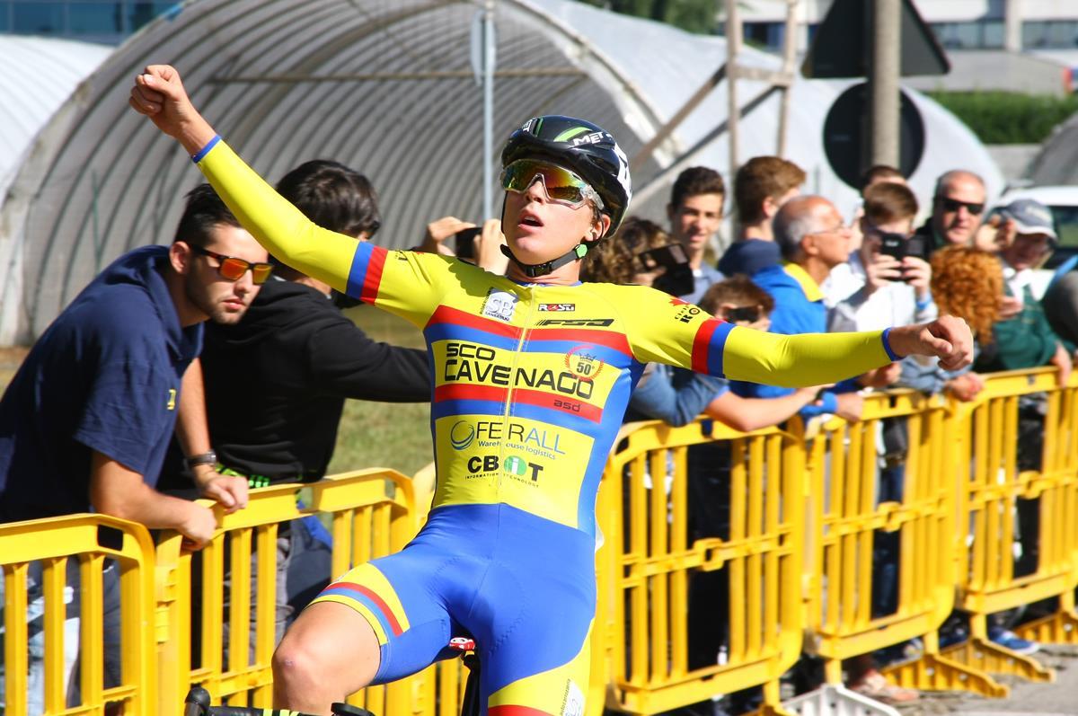 Gabriele Casalini vince a Carugate