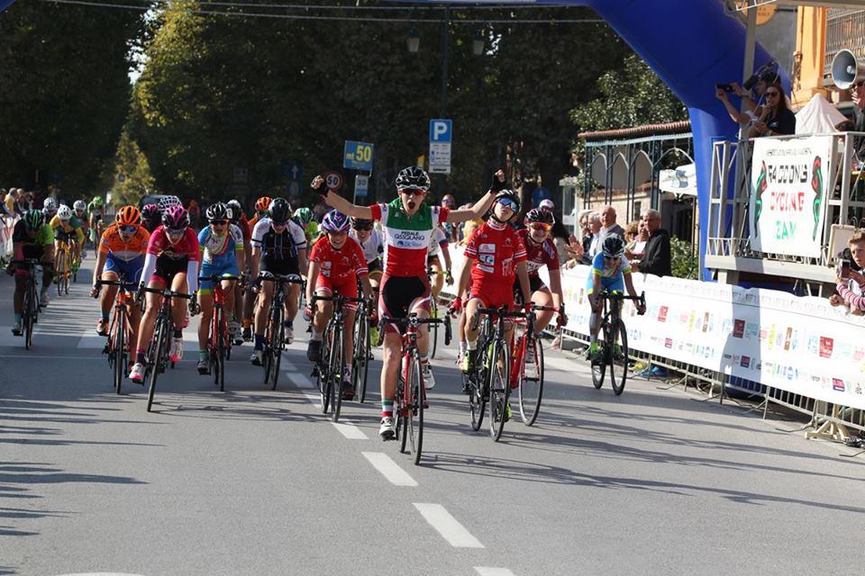 Francesca Barale vince la gara Donne Esordienti di Racconigi