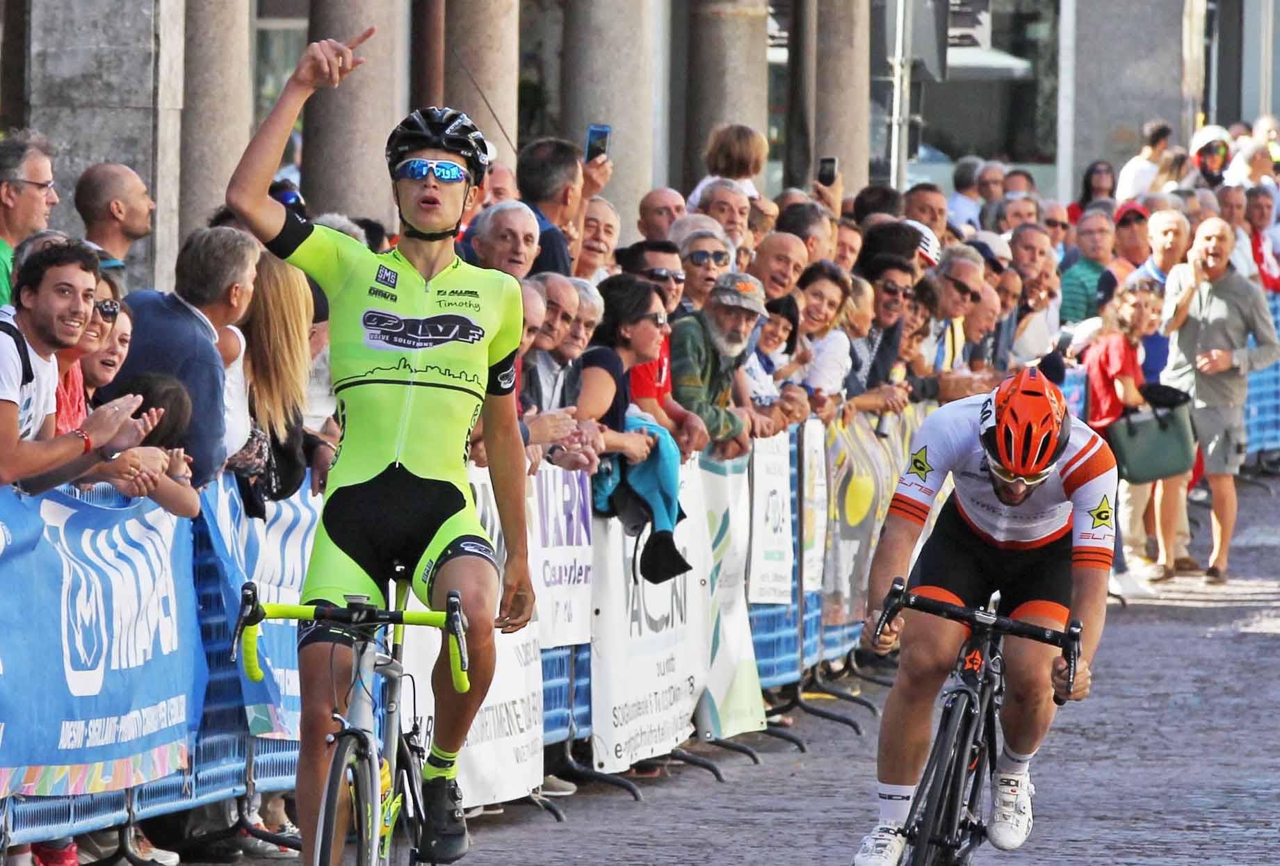 Andrea Berzi vince a Casalpusterlengo