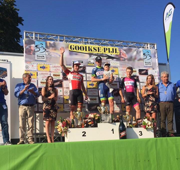 Kenny Dahaes vince la Gooikse Pijl 2017
