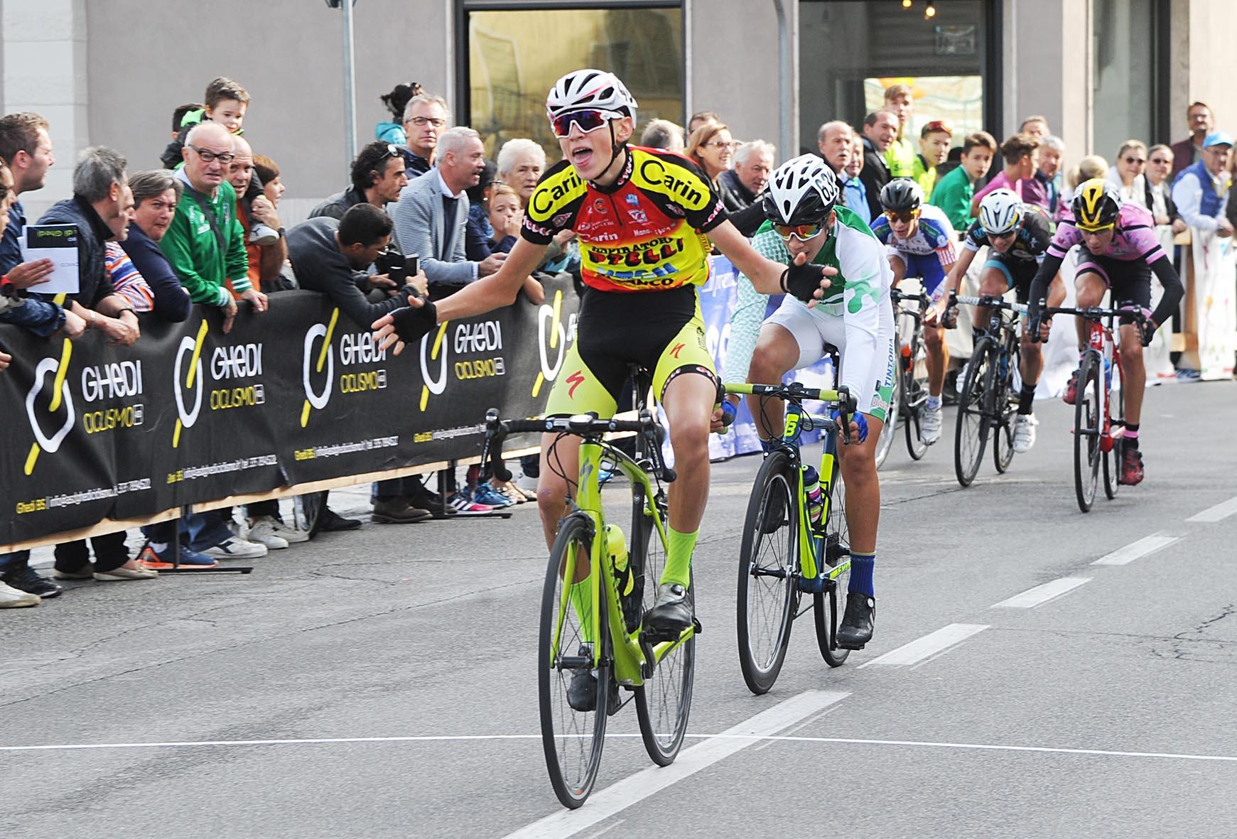 La vittoria di Gabriele Raccagni a Ghedi