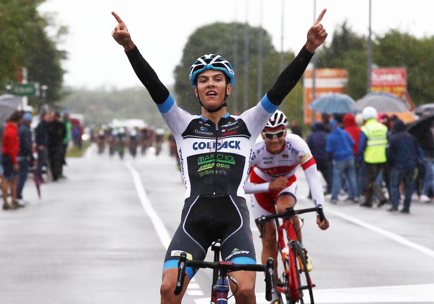 Stefano Oldani vince a Parabiago