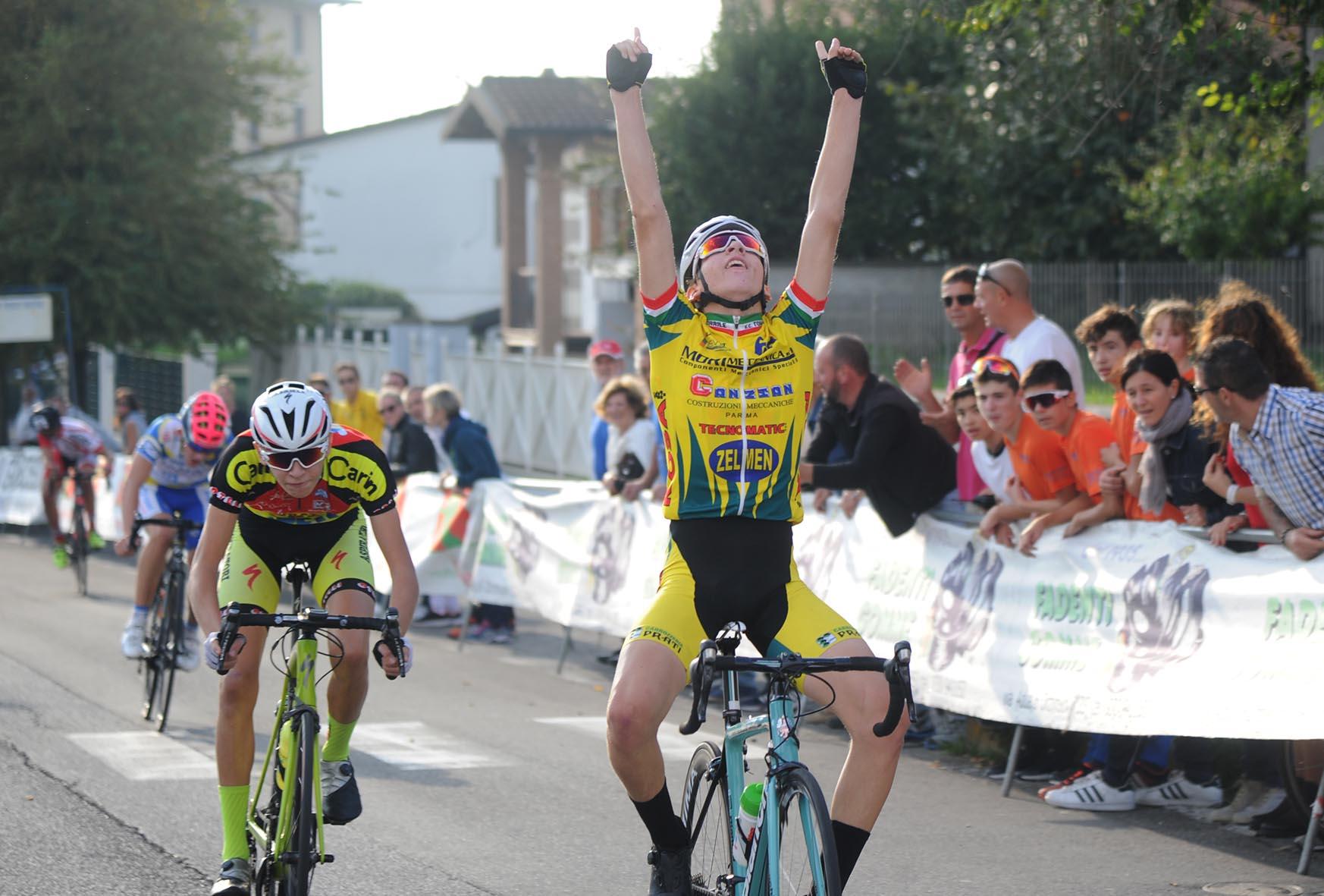 La vittoria di Michael Cattani ad Orzinuovi