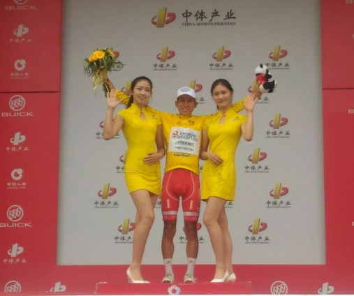 Kevin Rivera vince il Tour of China II