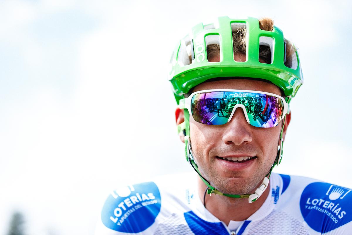 Davide Villella vince la maglia a pois della classifica scalatori