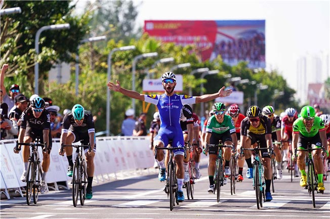 Fernando Gaviria vince la prima tappa del Tour of Guangxi 2017