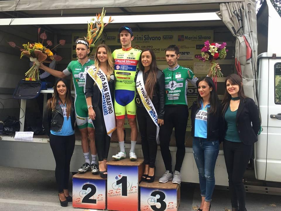 Il podio di Montegranaro