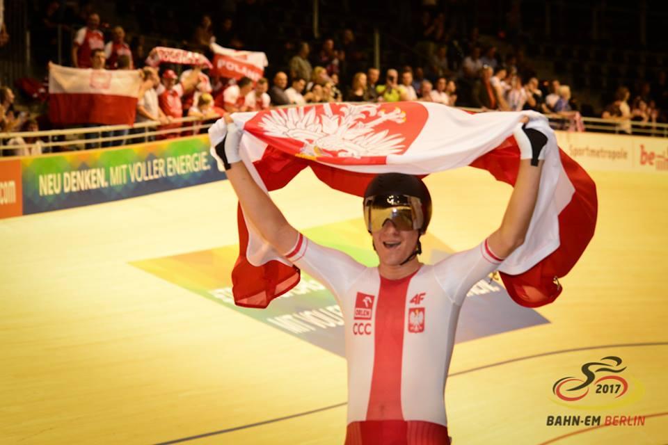 Il polacco Alan Banasek campione europeo della Corsa a punti