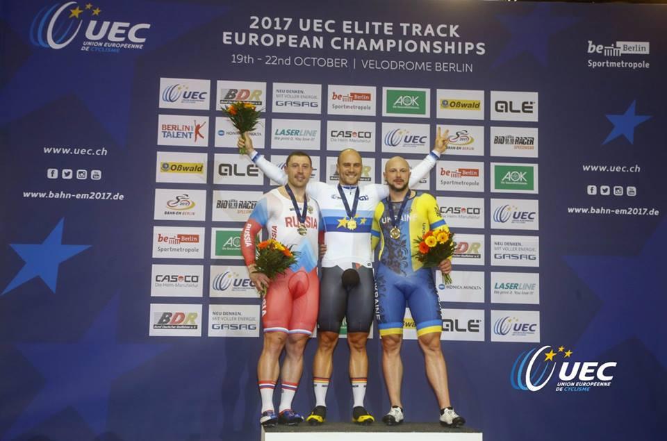 Il tedescoMaximilian Levy campione europeo del Keirin