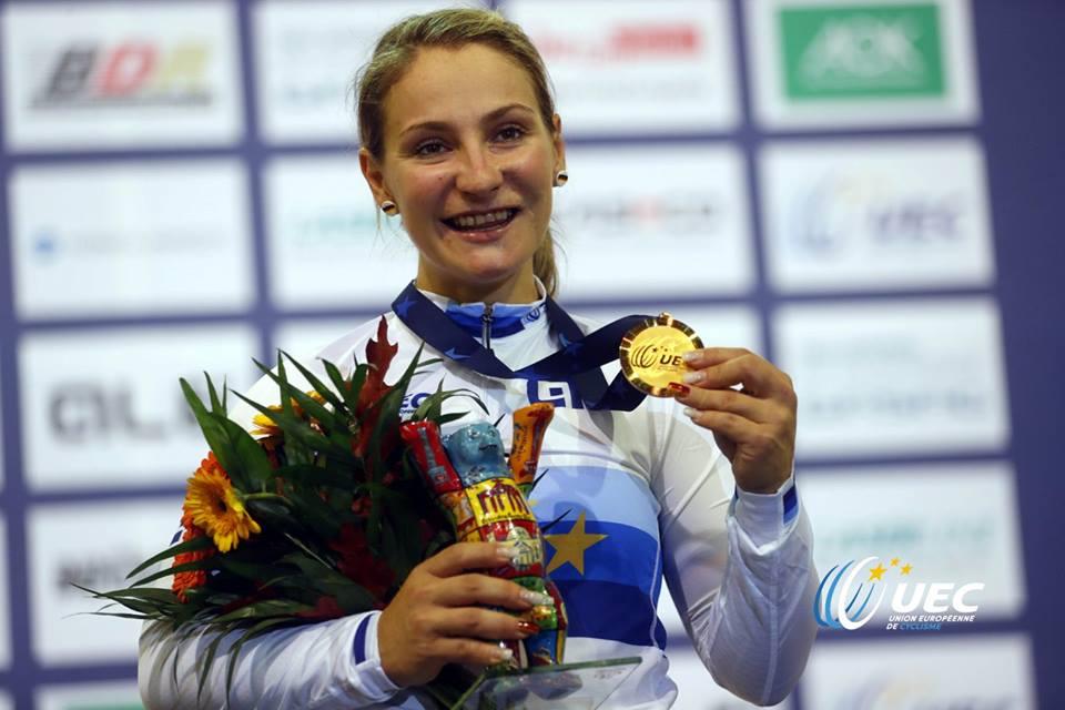 La tedesca Kristina Vogel campionessa europea della Velocità