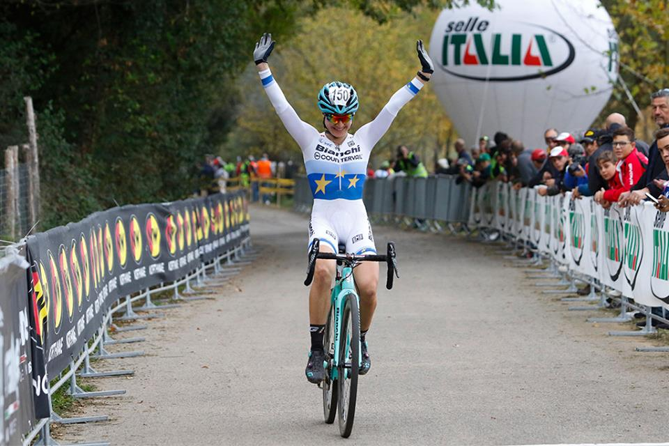 La vittoria della campionessa europea Donne U23 Chiara Teocchi a Ferentino
