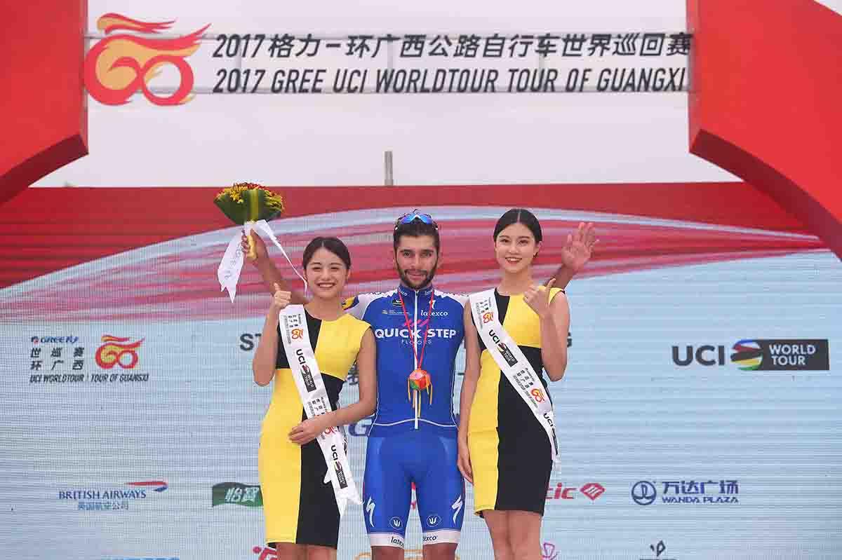 Fernando Gaviria vince anche la seconda tappa del Tour of Guangxi 2017