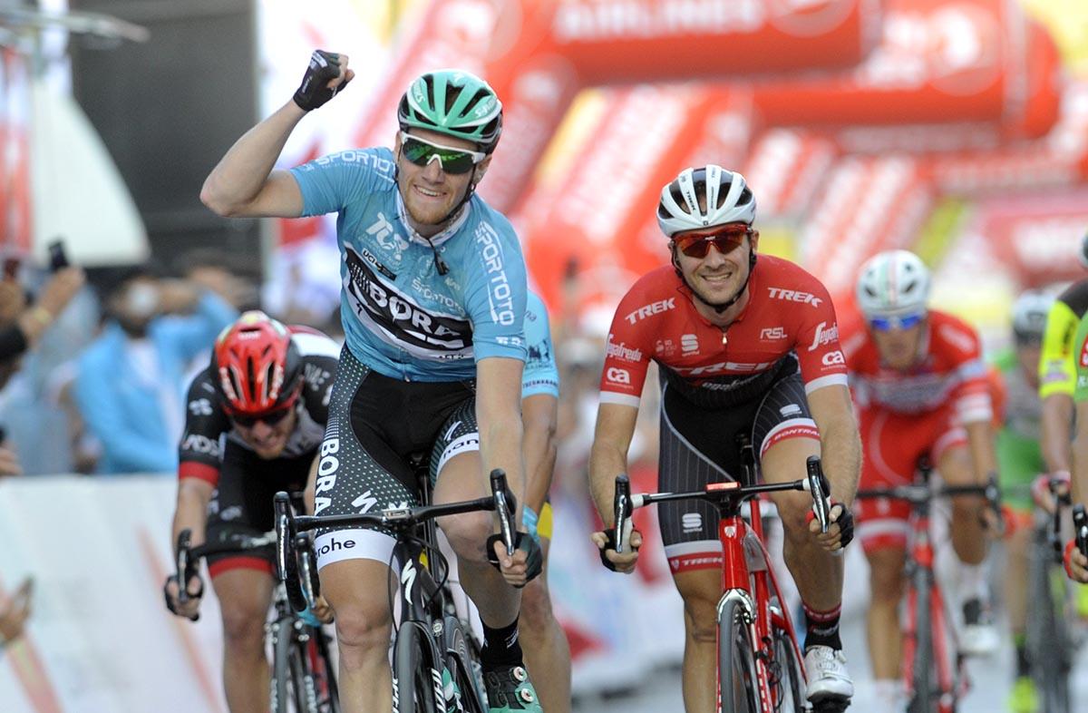 Sam Bennett vince la seconda tappa del Giro di Turchia 2017
