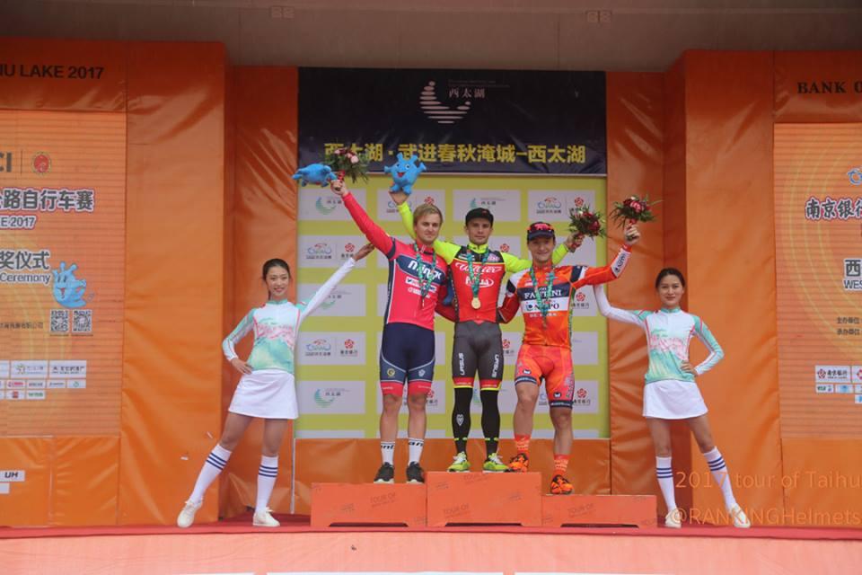 Jakub Mareczko vince anche la terza tappa del Tour of Taihu Lake
