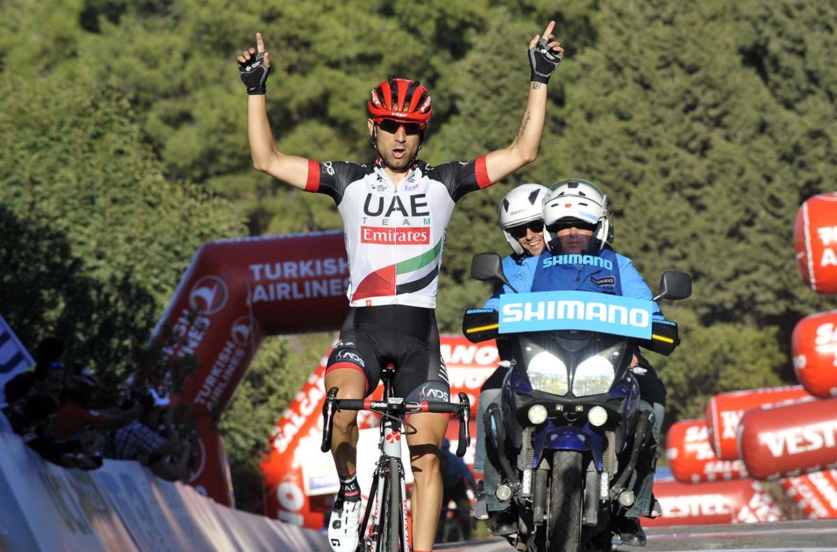 Diego Ulissi vince la quarta tappa del Giro di Turchia