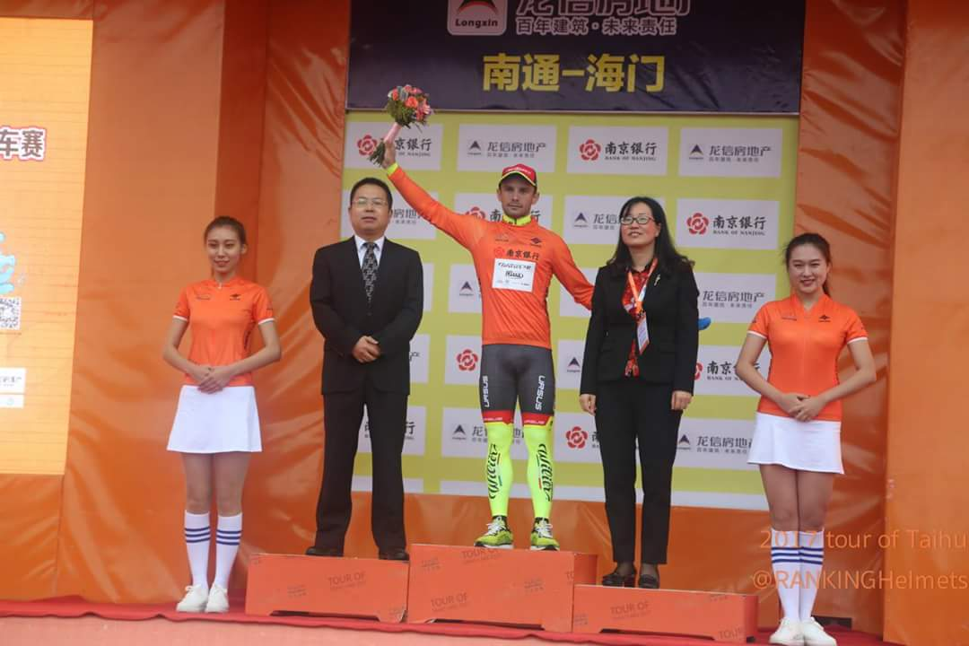 Jakub Mareczko vince anche la sesta tappa ed è leader del Tour of Taihu Lake