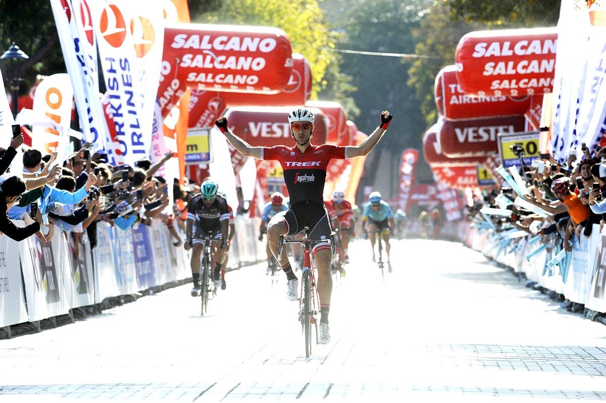 Edward Theuns vince l'ultima tappa del Giro di Turchia