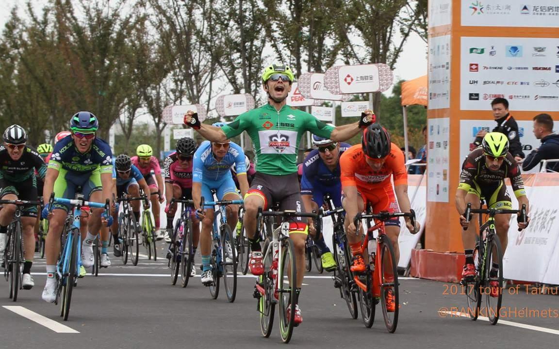 Jakub Mareczko vince anche l'ultima tappa del Tour of Taihu Lake