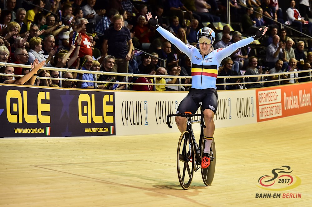 Il belga Thijssen Gerben vince il titolo europeo dell'Eliminazione