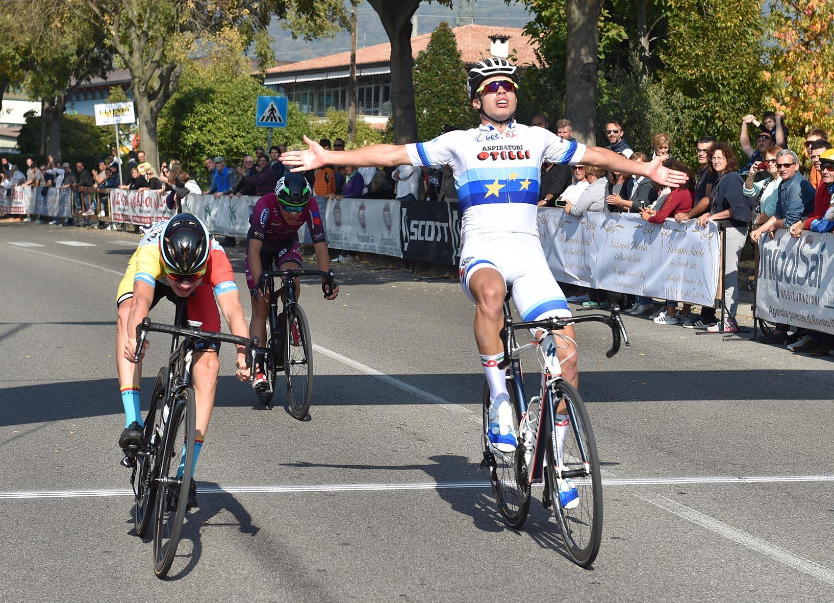 La vittoria di Michele Gazzoli a Camignone