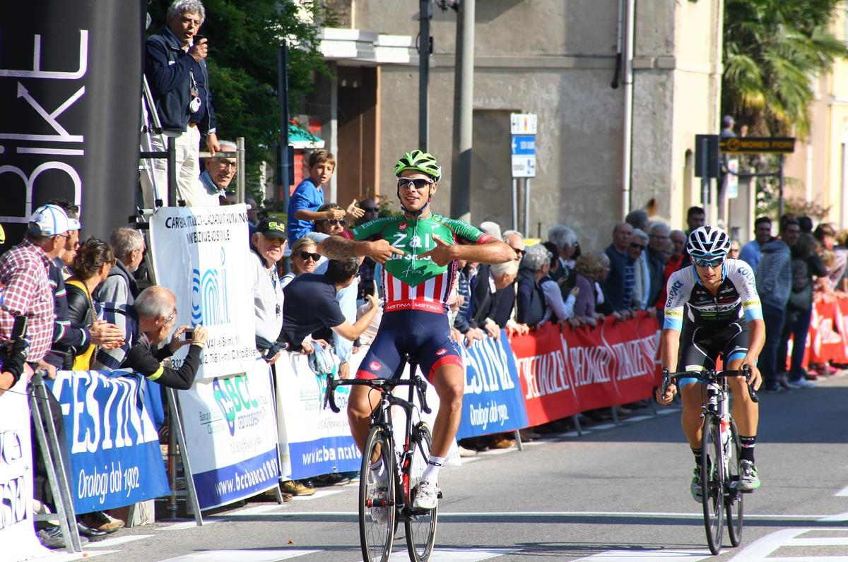La vittoria di Filippo Rocchetti a Somma Lombardo