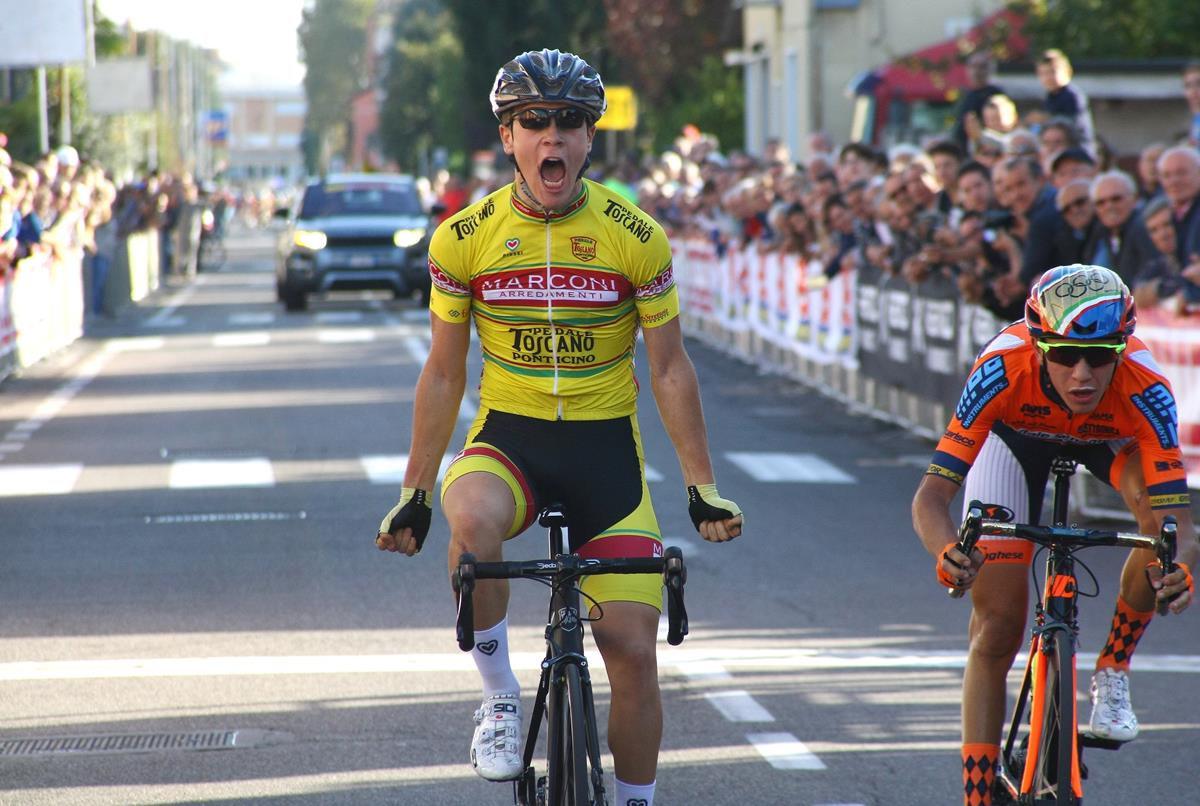 La vittoria di Enrico Baglioni a Molinello di Cesano Maderno