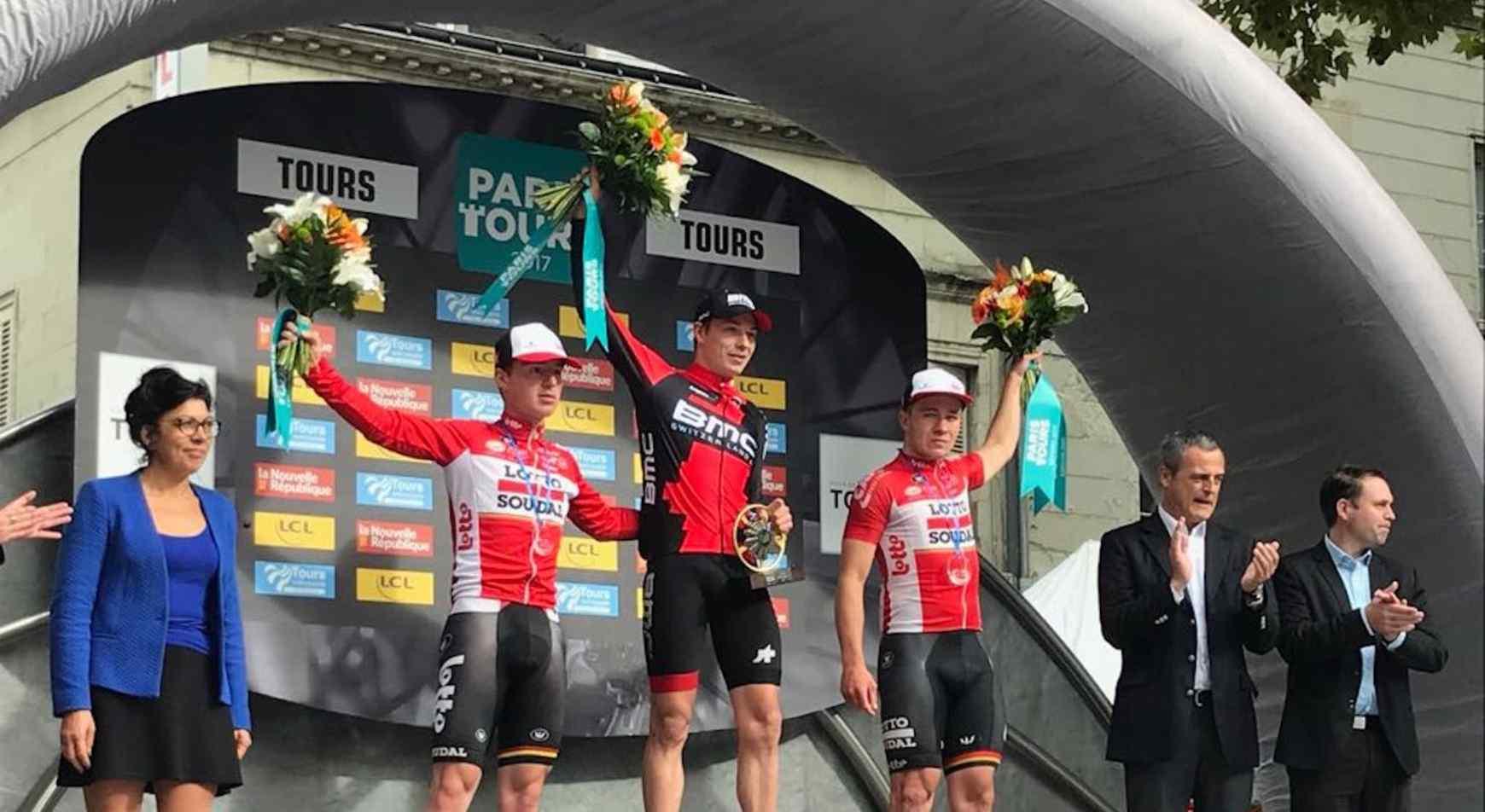 Jasper Philipsen vince la Parigi-Tours Espoirs 2017