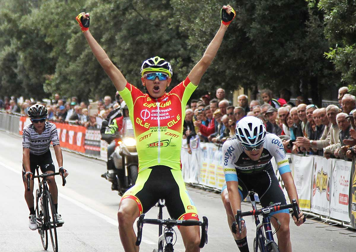 Aleksandr Riabushenko vince il 66° Gp Ezio del Rosso a Montecatini Terme
