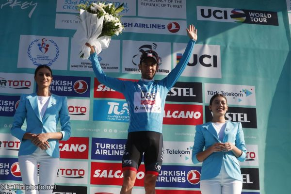 Diego Ulissi vincitore della classifica finale del Tour of Turkey 2017