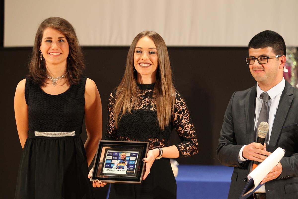 La premiazione di Letizia Paternoster