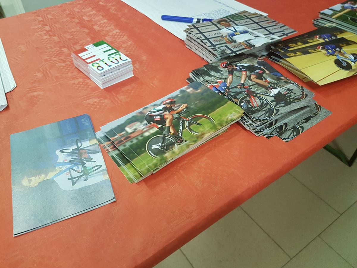 Cartoline per i tifosi di Filippo Ganna
