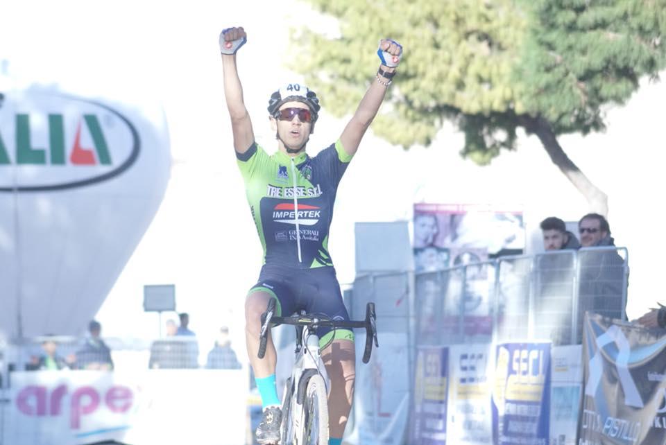 Federico Ceolin vince la prova Juniores a Barletta