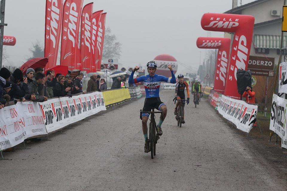 La vittoria di Leonardo Cover tra gli Juniores a Faè di Oderzo