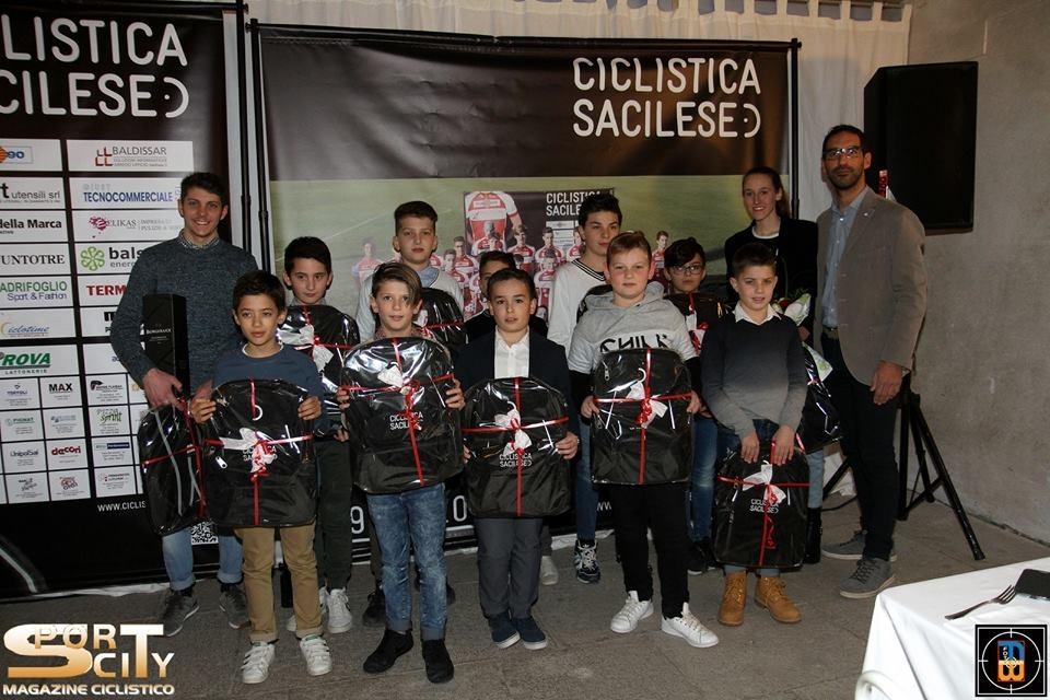Il gruppo dei Giovanissimi della Sc Sacilese