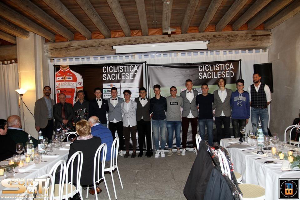 Il gruppo degli Juniores della Sc Sacilese
