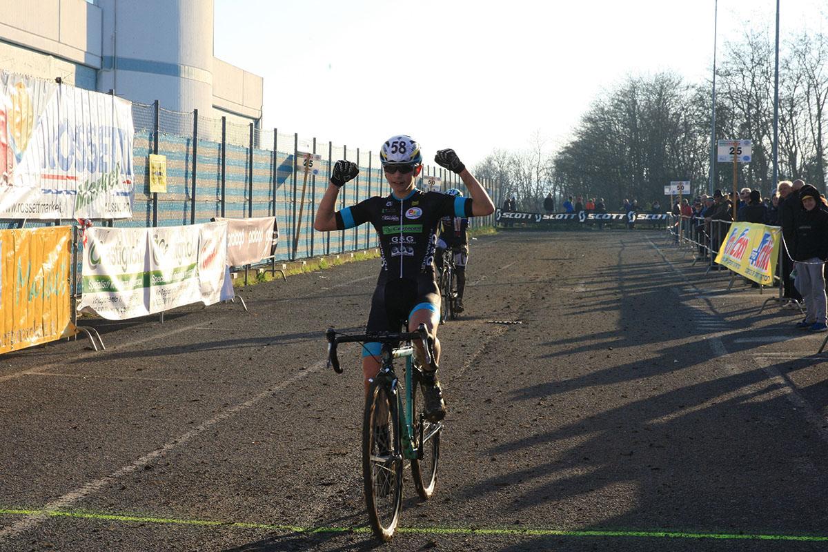 Nicola Rossi vince tra gli Allievi