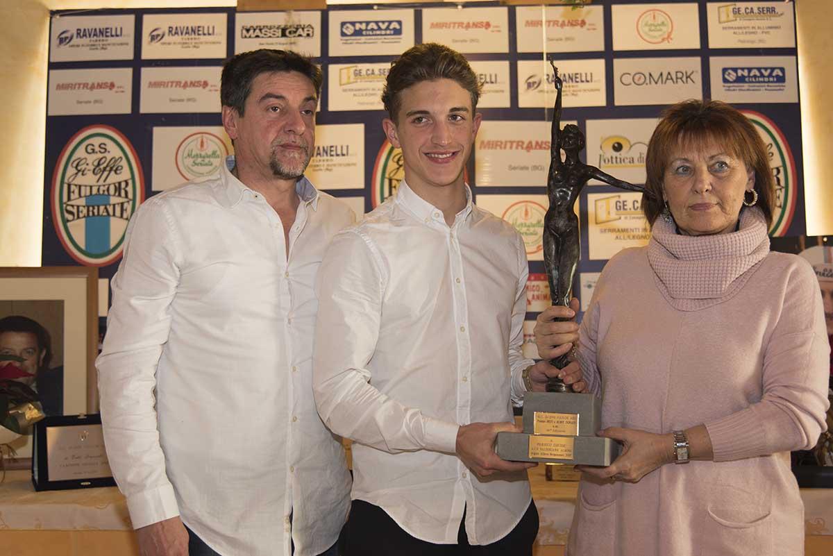 Davide Persico vince il Premio Bepi e Roby Donati 2017
