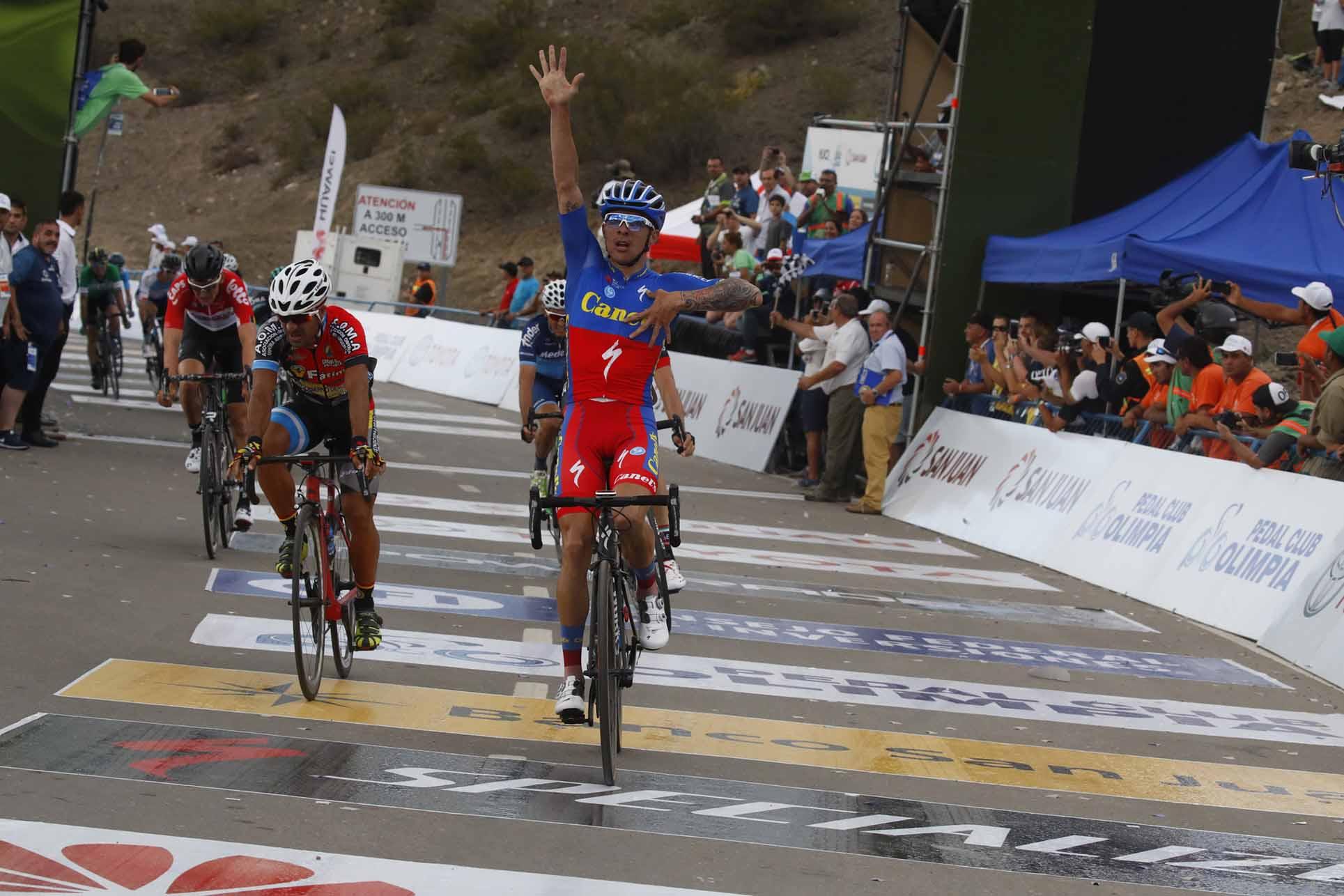 Roman Villalobos vince la seconda tappa della Vuelta a San Juan 2018