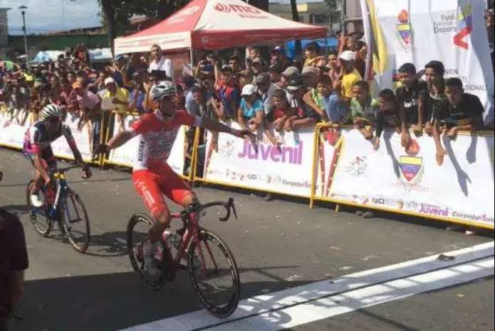 Matteo Malucelli vince la prima tappa della Vuelta al Tachira 2018